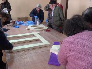 Хора с увреждания творят Алея на кирилицата в Пловдив