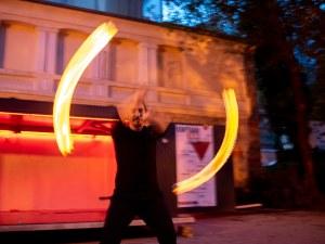 Огън танцува на Бунарджика (Фотогалерия)