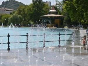 Пеещите фонтани оживяват за Деня на детето