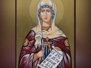 Почитаме светица, основала първия девически манастир