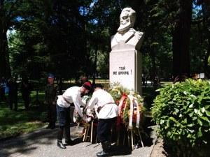 Пловдивчани почетоха подвига на Ботев и загиналите за свободата на България (Фотогалерия)