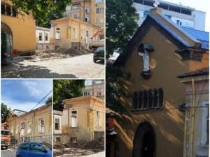 """Възстановяват храма """"Дева Мария на Ангелите"""" в Пловдив"""