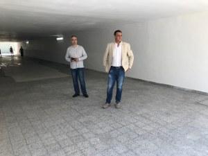 """Подлезът на бул. """"Санкт Петербург"""" и ул. """"Стоян Михайловски"""" светна"""