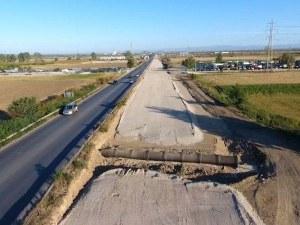 Изграждат локалните платна на Асеновградско шосе