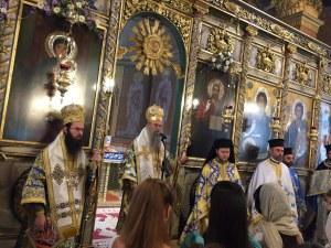 Пловдивският митрополит изнесе пламенна реч в защита на Борисов