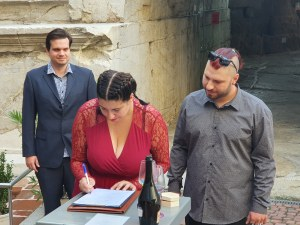 Ники от Казанлък спечели на карти Валя от Велико Търново, ожениха се в Пловдив на 10.10.2020-а
