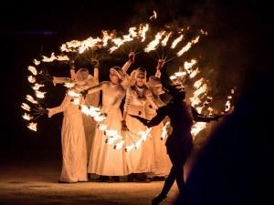 Огнени барабани огласят центъра на Пловдив