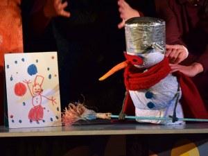 Дядо Коледа идва в Кукления театър