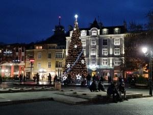 Пловдив в празнична премяна (Фотогалерия)