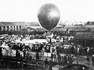 Как полетът на един французин с балон се превърна в най-очакваното събитие в Пловдив
