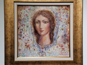 """Емблематични женски образи от Валери Ценов омайват посетителите в """"Аспект"""""""