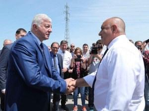 """Зико се срещна с Борисов заради сметищата и """"Пловдив-Въча"""""""