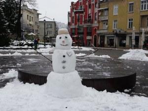 Пловдив облече снежна дреха (Фотогалерия)