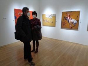 Мощната живопис на Иван Чакъров завладя Градската галерия (Фотогалерия)