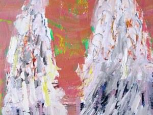 """Пламен Русев рисува """"Драконови пера"""" за знаменитата си леля Гена Димитрова"""