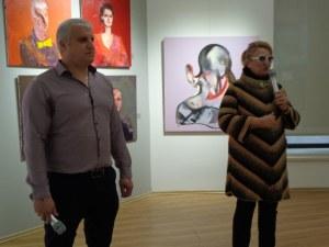 """Ретроспективната изложба """"Лица"""" на Иван Чакъров остава до 7 май"""