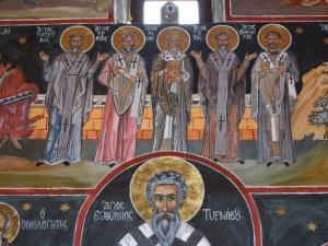 Възкресение е за сакралните стенописи в църквата на Бачковския манастир