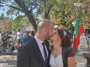 Пловдивчани се втурнаха да се женят, Домът на младоженците се оживи