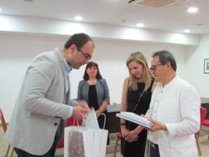 Директорът на Китайския културен център инициира обмен на художници и музиканти с Пловдив