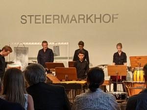 Възпитаник на НУМТИ с блестящо представяне на майсторски клас в АКАДЕМИЯ PERCUSSION в Австрия