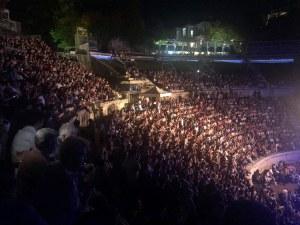 Великата Лили Иванова на Античния: Винаги казвам - Пловдив си е Пловдив!