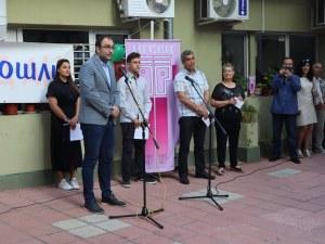 Зам.-кметът Пламен Панов откри учебната година в Сценични кадри