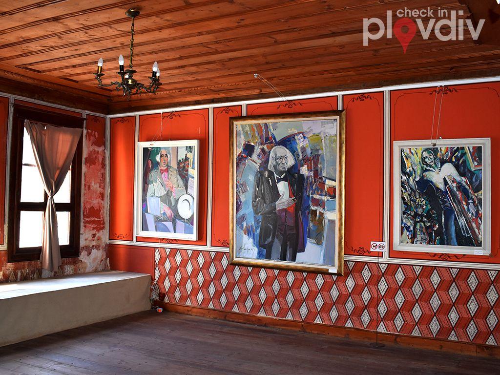 Постоянна експозиция на Димитър Киров (къща на Верен Стамболян)